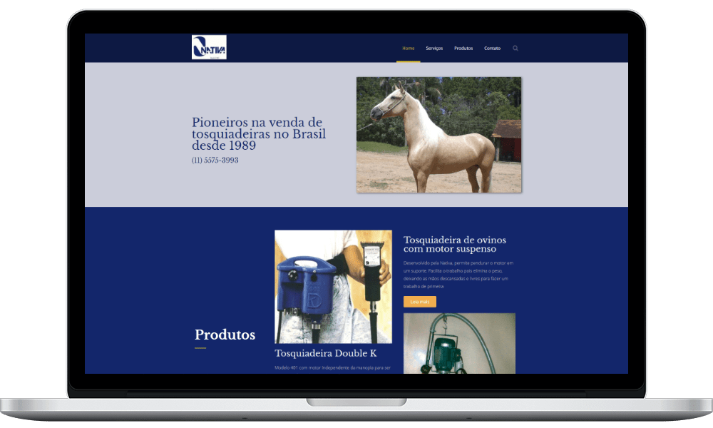 site nativa notebook - Nativa Tosqui