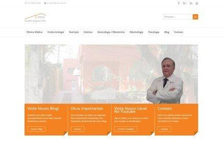 Cliente de Web Design - Clínica Dr. Joffre Nogueira Filho