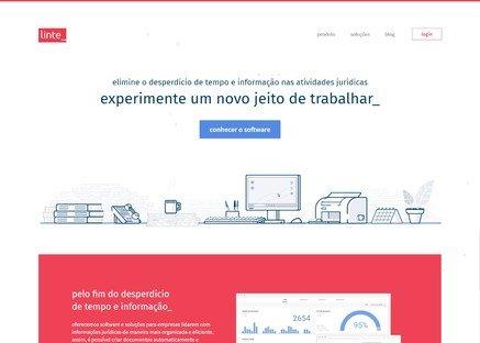 Cliente de Web Design - Linte