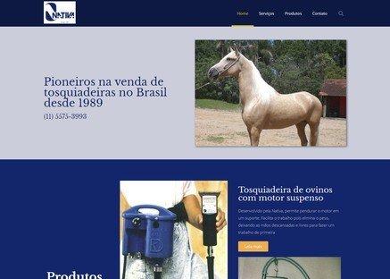 Cliente de Web Design - Nativa Tosqui
